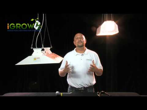 Plant lighting energy efficiency - The end of the 1000 Watt grow light
