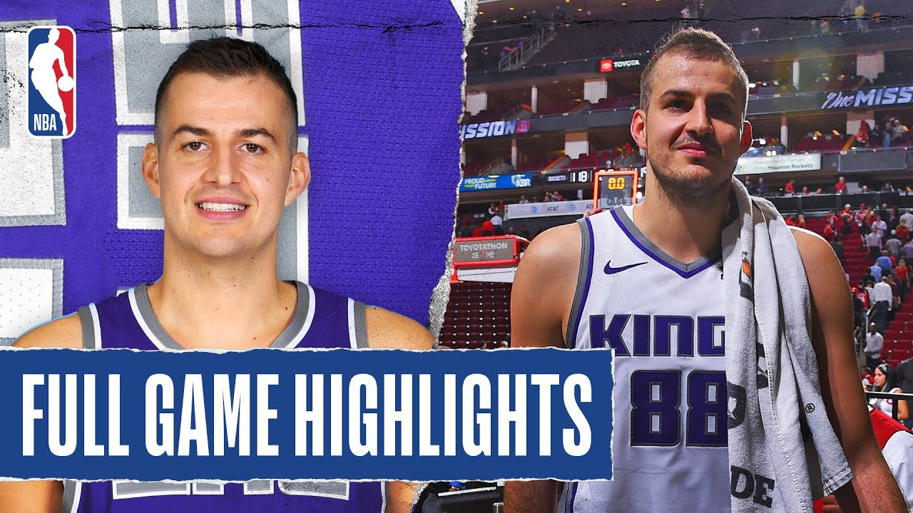 Download KINGS at ROCKETS | FULL GAME HIGHLIGHTS | December 9, 2019