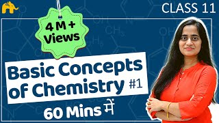 Basic Concepts Of Chemistry Class 11| In Hindi