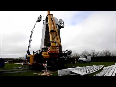 Wilton Windmill sail rigging