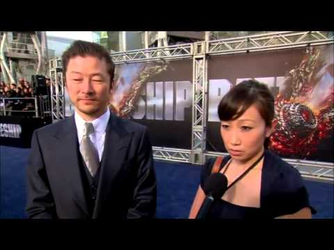 """Tadanobu Asano"" LA Premiere! Battleship HD"