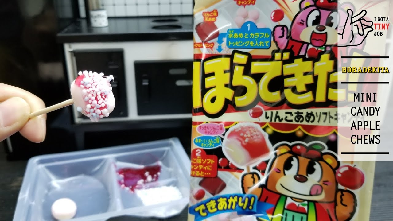 Horadekita Mini Candy Apple Chews by I got a Tiny Job