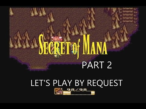 **BLIND** Secret Of Mana Part 2 - Dwarfs & A Sprite