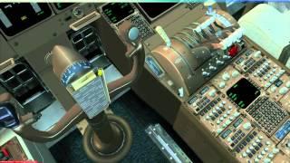 fsx   ifly 747 v1  proatc x   ybbn ymml   full flight   manual