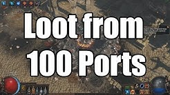 Loot from 100 Port Maps