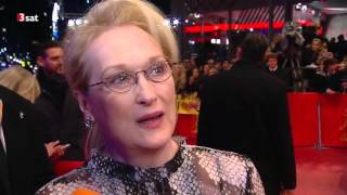 Meryl Streep - Red Carpet Interview, Berlinale 2016