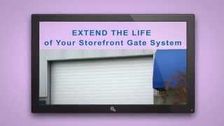 Storefront Security Gate Repair Suffolk County NY 24 Hour Roll Gate | Overhead Sectional Door