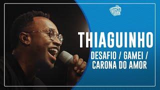 Semana Maluca   Thiaguinho   Desafio / Gamei / Carona do amor (Semana Maluca)