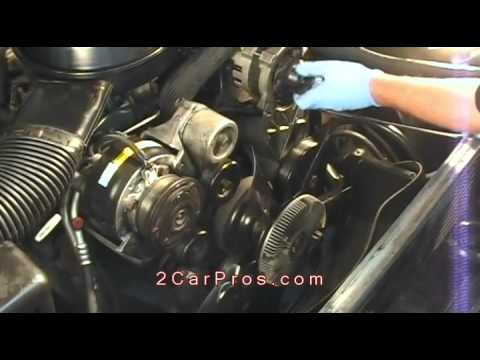 Serpentine Belt Replacement 1988 2000 Chevrolet Silverado Youtube