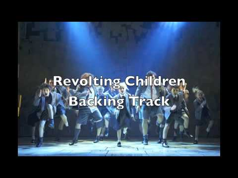 Revolting Children - Instrumental Backing Track - Matilda