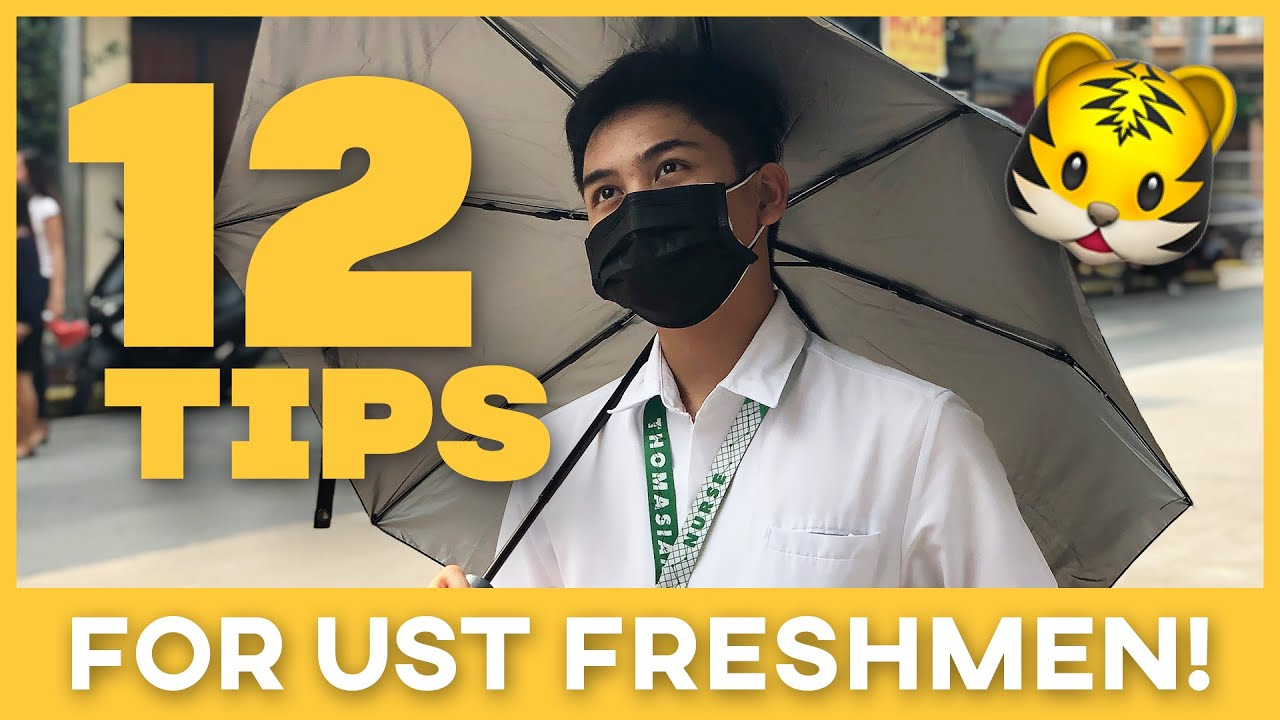 Download 12 TIPS i wish i knew before my first day in UST 🐯 (2020)