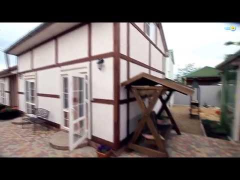 Домики в немецком стиле №186. Отдых на Азовском море в Голубицкой