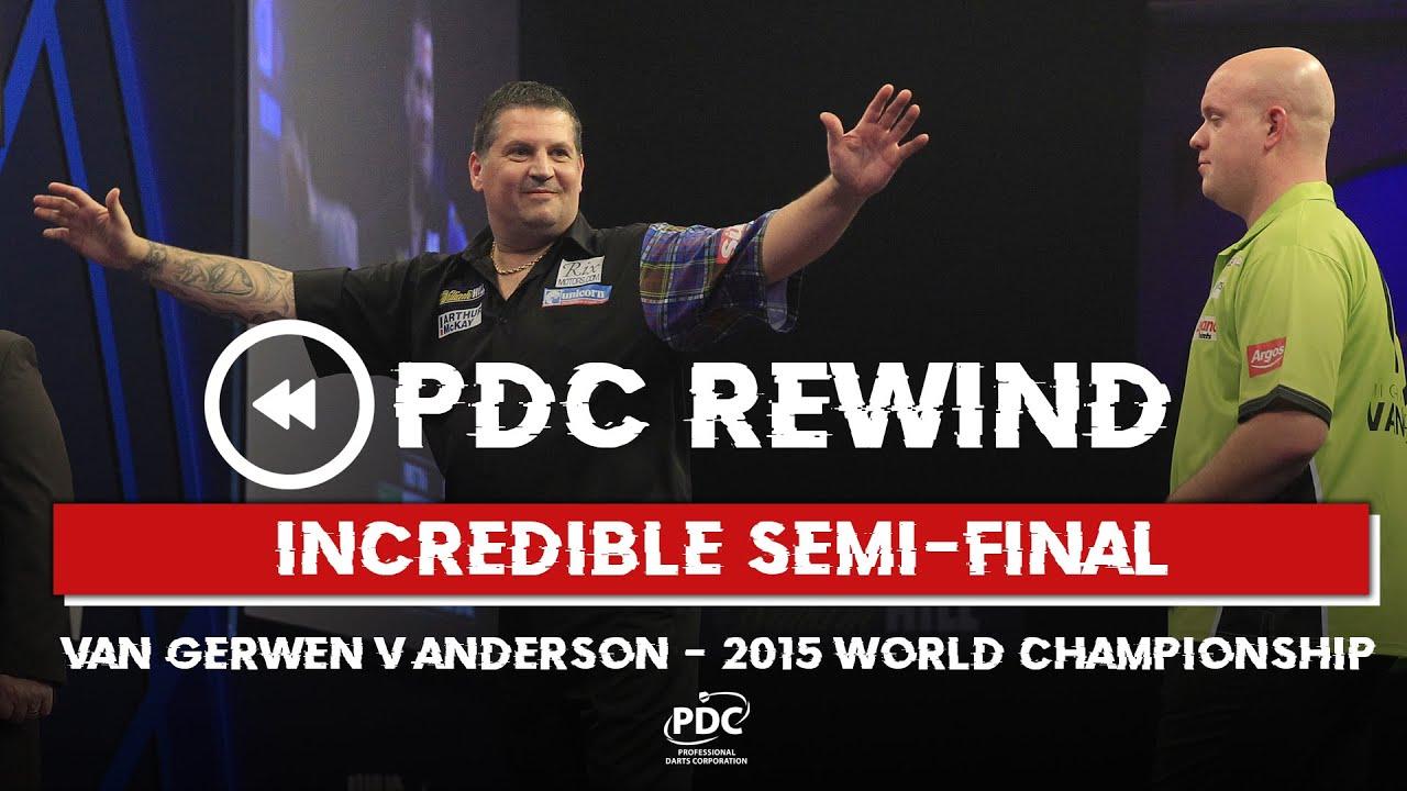 BRILLIANT SEMI-FINAL! Anderson v Van Gerwen | 2015 World Championship Semi Final