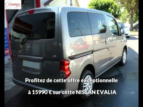 nissan evalia diesel occasion 15990 youtube. Black Bedroom Furniture Sets. Home Design Ideas