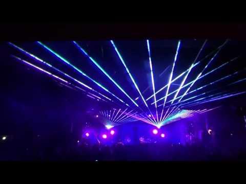 Joshua Tree Music Festival 2016  JTMF  SUNSQUABI  with Nomadix Lasers - AudioTek Sound