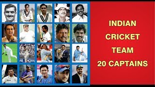 Indian Cricket Team Captains