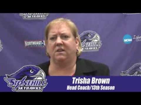Trisha Brown Postgame Interview vs. Assumption