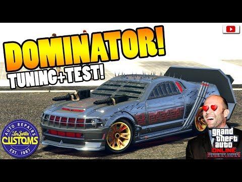 😍🛠Das Death Race Auto DOMINATOR Tuning+Test!😍🛠[GTA 5 Online Arena War Update DLC] thumbnail