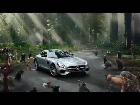 Веселый рекламный ролик mercedes amg gt s
