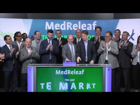 MedReleaf opens Toronto Stock Exchange 06 23 17