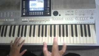 kĩ thuật chạy ngón trên organ phần 2 dễ học