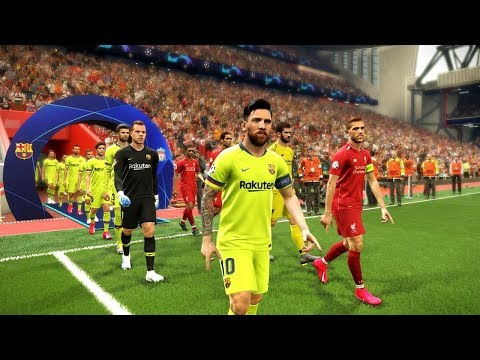 Liverpool vs Barcelona (Semi Final) UEFA Champions League 2019 Gameplay