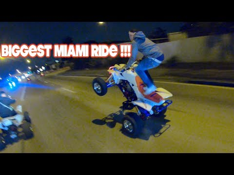BIGGEST MIAMI RIDE EVER !! (DAY 1)