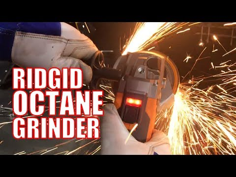 "Ridgid Octane 4-1/2"" Angle Grinder Review"