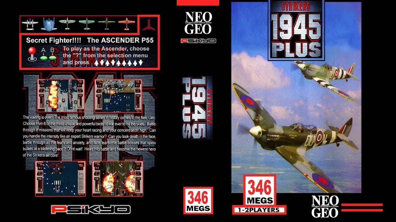 NEO·GEO - STRIKERS 1945 PLUS [720p HD]