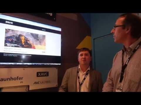 DivX MPEG-DASH video-on-demand