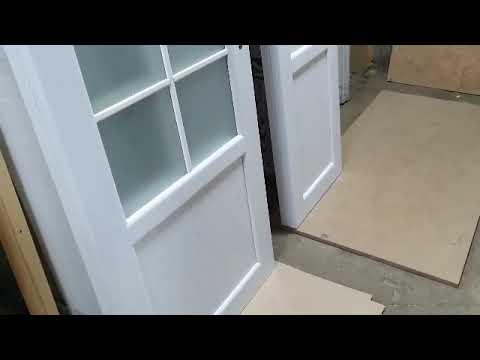 Межкомнатные шпонированные двери НСД Прованс