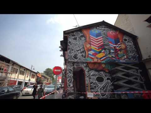 #tanahairku Street Art 2015: Johor