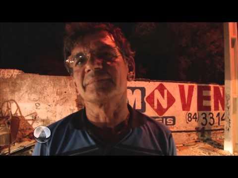 Assista o vídeo do incêndio que levou pânico aos maradores do bairro São João na noite desta quinta-feira 07 de agosto