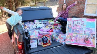 We're Donating All Of Our Toys