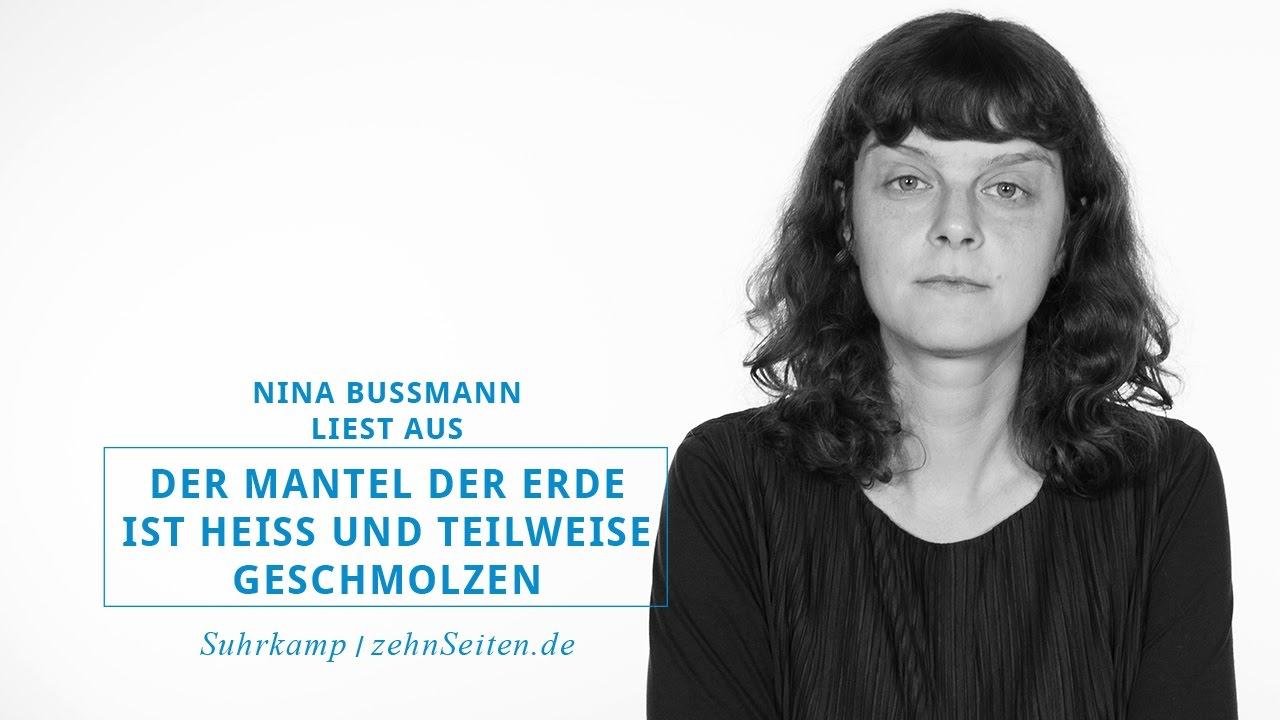 Nina Bußmann über ihr Roman Der Mantel der Erde ist heiß und