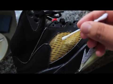RESTORATION: How to fix cracked Jordan 5 Netting