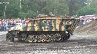 Stahl auf der Heide 2014 ♦ SdKfz 251 / 7 Wehrmacht Halbkettenfahrzeug Pionierpanzerwagen Half-Track