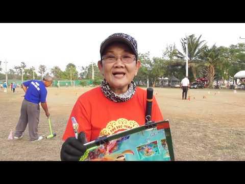 G.Folk 2018 (Clip 160) Sport on Tour 16/02/61 วู้ดบอล สระบุรีโอเพ่น (ซ้อมก่อนวันแข่ง)