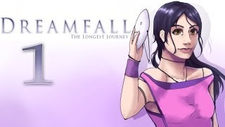 Cry Plays: Dreamfall: The Longest Journey [P1]