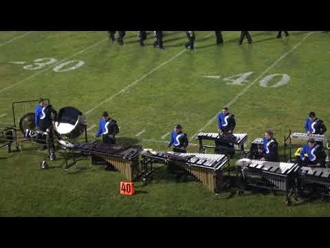 Salem High School Marching Band & Color Guard at Lancer Park,  09/07/18