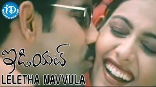Leletha Navvula Video Song - Idiot Movie - Ravi Teja | Rakshita | Puri Jagannadh | Chakri