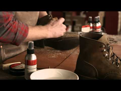 Red Wing Heritage - How to care for Roughout Leather boots