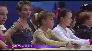 [HD] Ladies SP - Group 3 Warming Up - 1998 Nagano Olympics タラ・リピンスキー Tara Lipinski Тара Липински