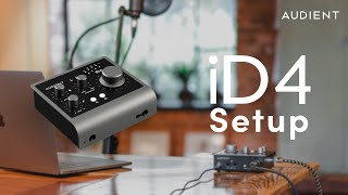 How to set up an Audient iD4 MkII Audio Interface