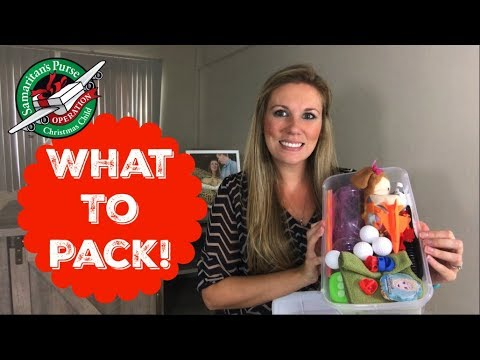 operation christmas child packing ideas - Operation Christmas Child Ideas