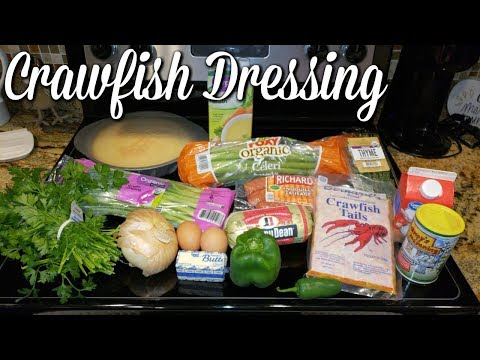 CRAWFISH DRESSING~THANKSGIVING SIDE RECIPES