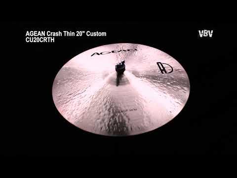 "20"" Crash Thin Custom video"