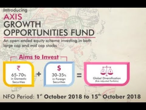 Axis Growth Opportunities Fund - NFO 1st Oct 2018 - 15th Oct 2018