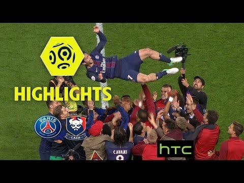 Paris Saint-Germain - SM Caen (1-1) - Highlights - (PARIS - SMC) / 2016-17