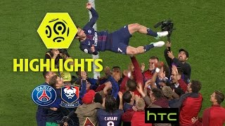 Paris Saint-Germain - SM Caen (1-1) - Highlights - (PARIS - SMC) / 2016-17